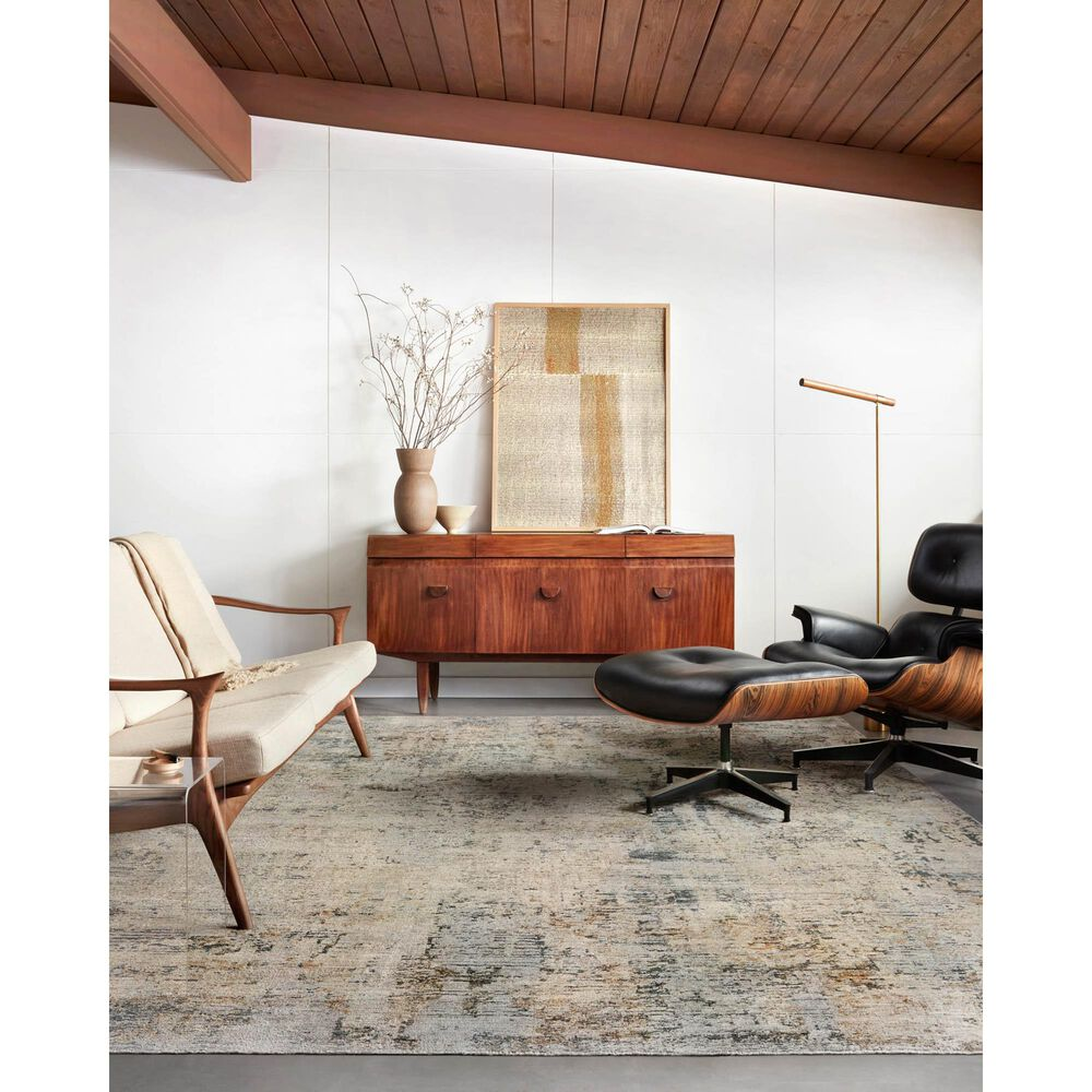 """Loloi Axel 6'7"""" x 9'10"""" Beige and Sky Area Rug, , large"""