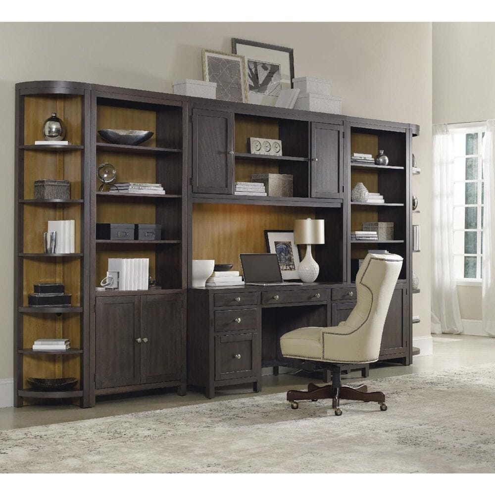 "Hooker Furniture South Park 66"" Executive Desk in Gray, , large"