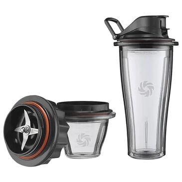 Vitamix Blending Cup and Bowl Starter Kit in Black and Clear, , large
