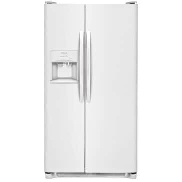 Frigidaire 25.5 Cu. Ft. Side-by-Side Refrigerator in White, , large