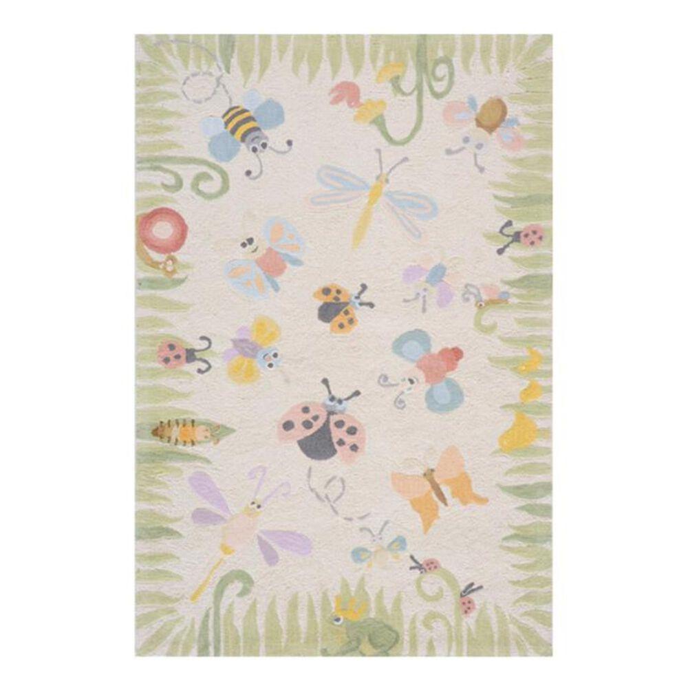 Little Dreamer Lil' Mo Classic Springtime 8' x 10' Multi-Color Kids Rug, , large