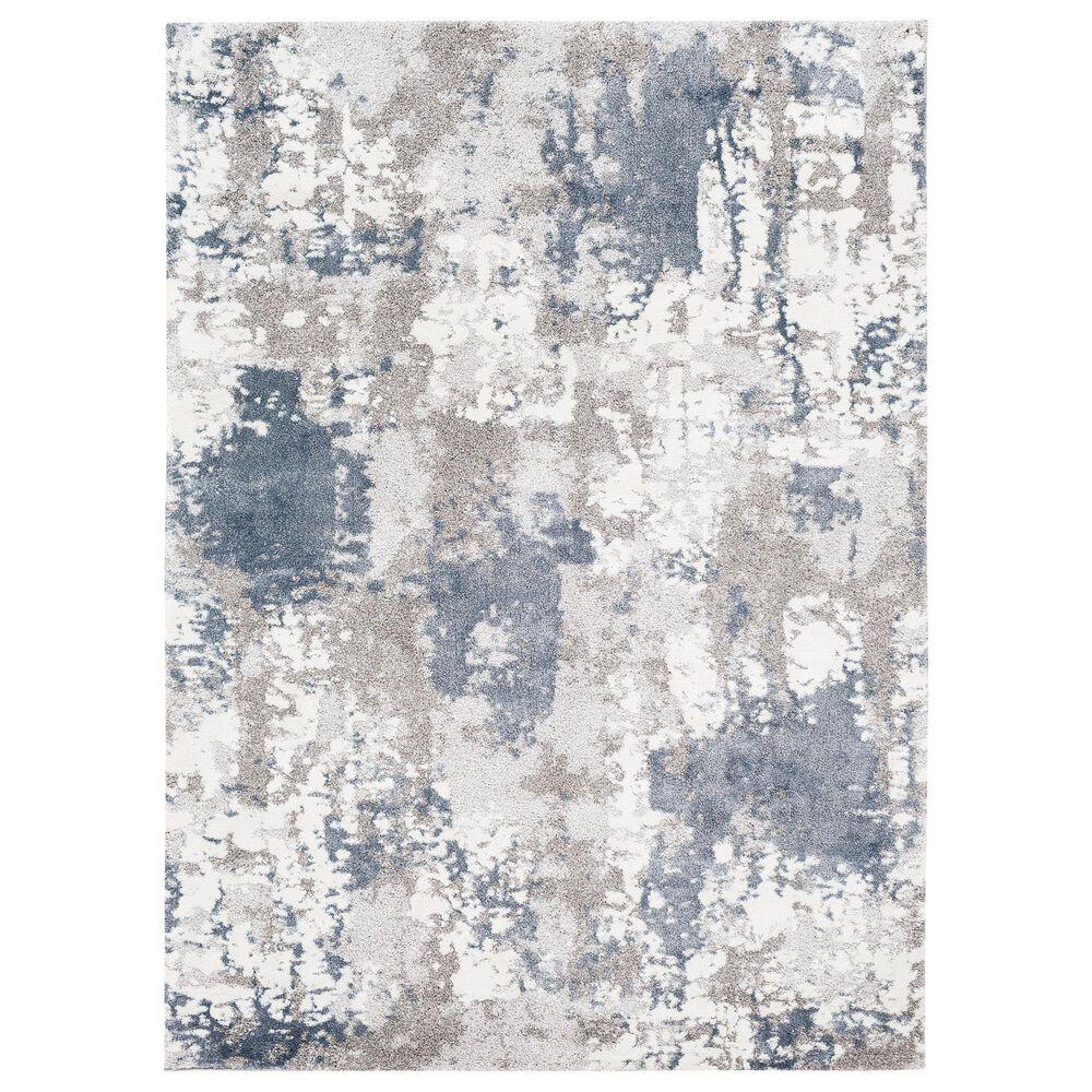 "Surya Venice VNE-2306 6'9"" x 9'6"" Denim, Blue and Ivory Area Rug, , large"