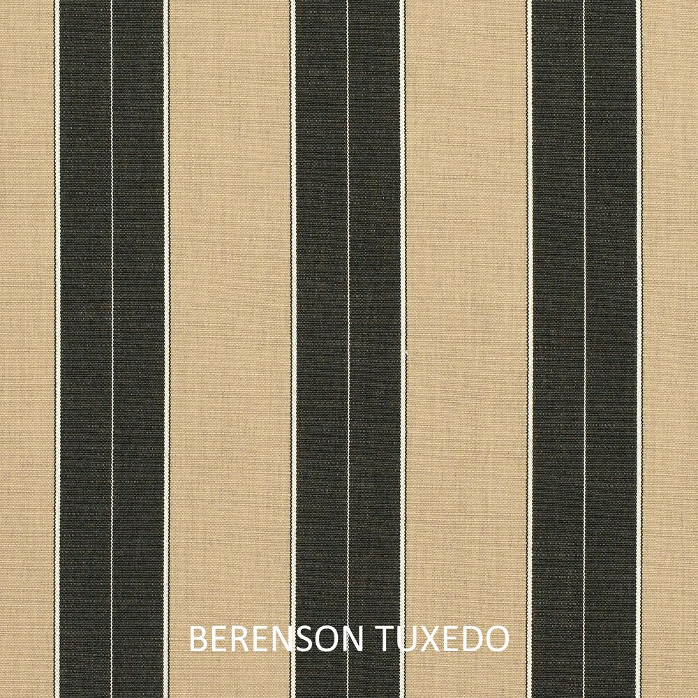 "Sorra Home Sunbrella 12"" x 24"" Pillow in Berenson Tuxedo (Set of 2), , large"