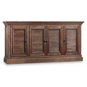 """Hooker Furniture Regatta 72"""" Console in Dark Natural Finish, , large"""