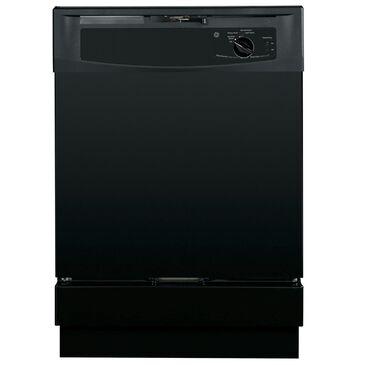 GE Appliances Built-In Dishwasher, Black, large