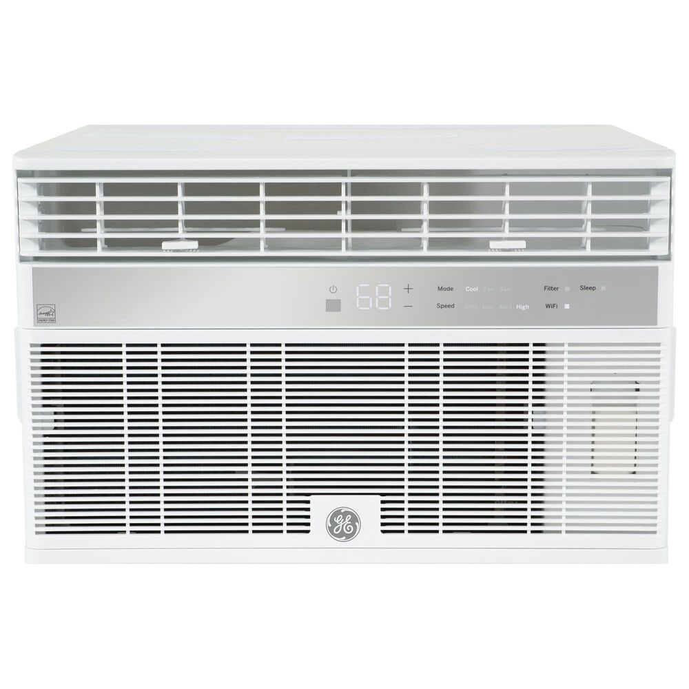 GE Appliances 14000 BTU Smart Room Air Conditioner in White, , large