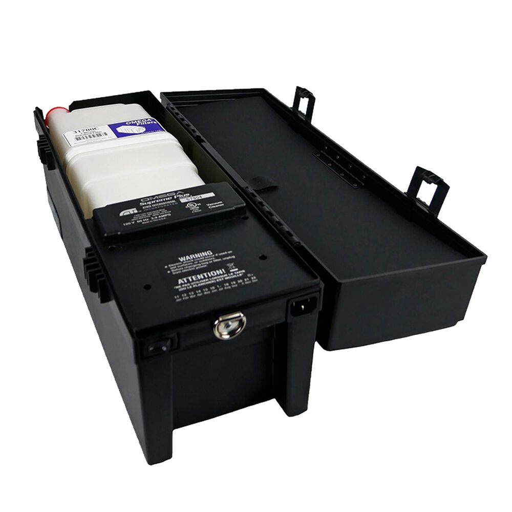 Atrix International Omega Supreme Plus ESD Safe Vacuum System in Black, , large