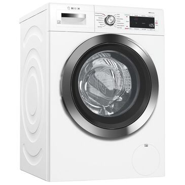 "Bosch 24"" Compact Washer in White and Chrome, , large"