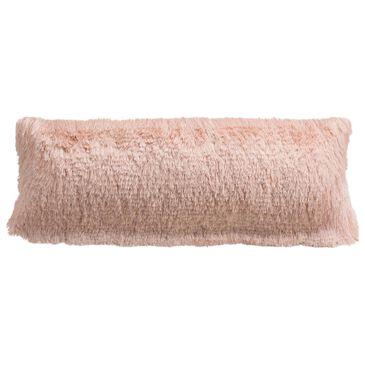 "Safavieh Cali Shag 12""x20"" Pillow in Blush, , large"