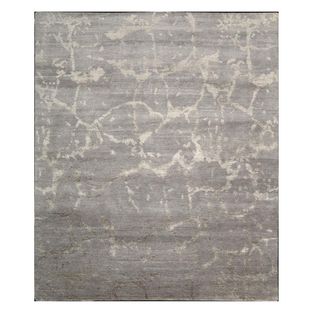 "Nourison Silk Shadows SHA02 3'9"" x 5'9"" Silver Area Rug, , large"