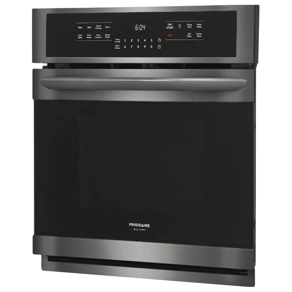 Frigidaire 27'' Single Electric Wall Oven in Black Stainless Steel, , large
