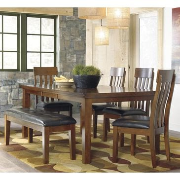 Signature Design by Ashley Ralene 6-Piece Dining Set in Medium Brown, , large