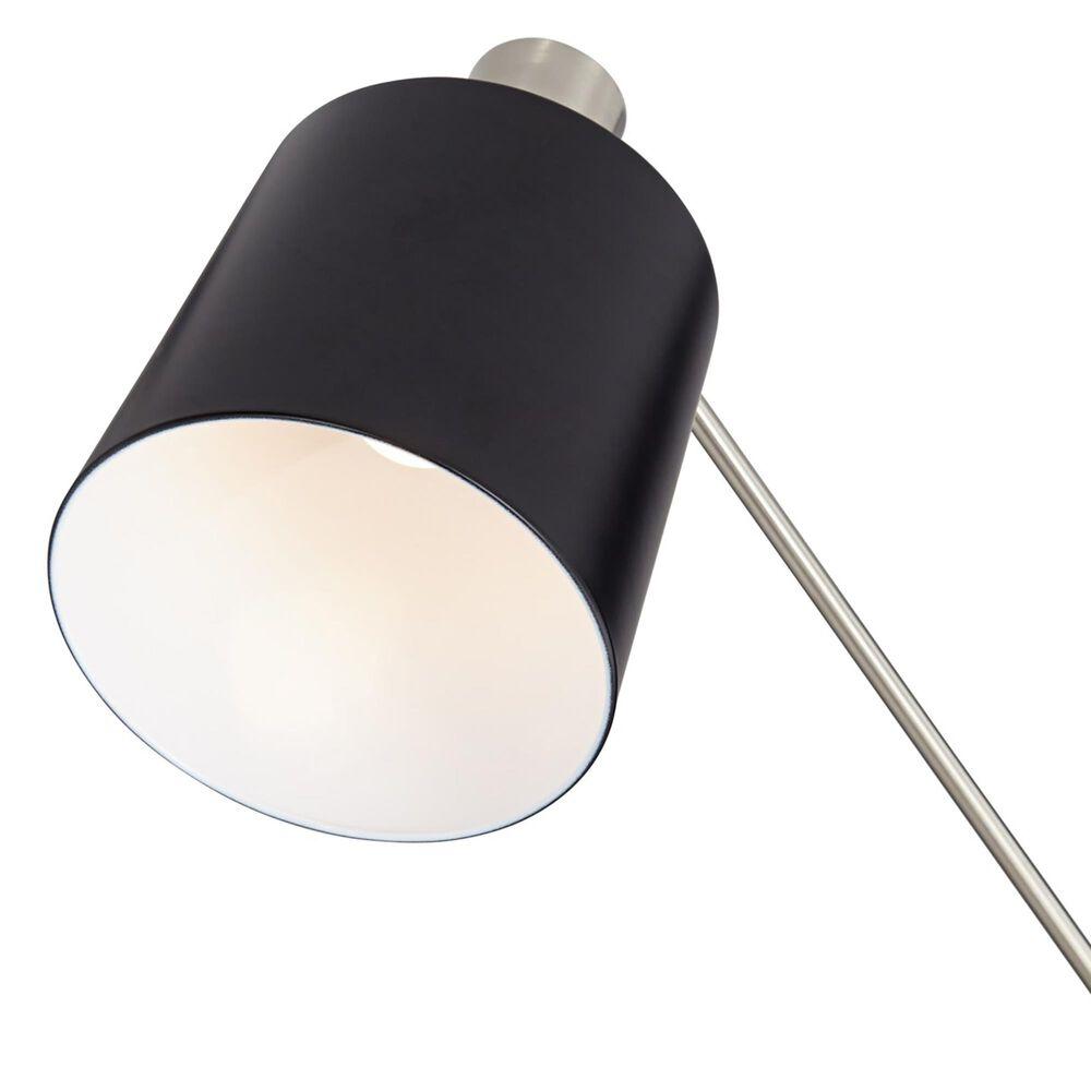 Pacific Coast Lighting New York Studio Floor Lamp in Brushed Nickel and Black, , large