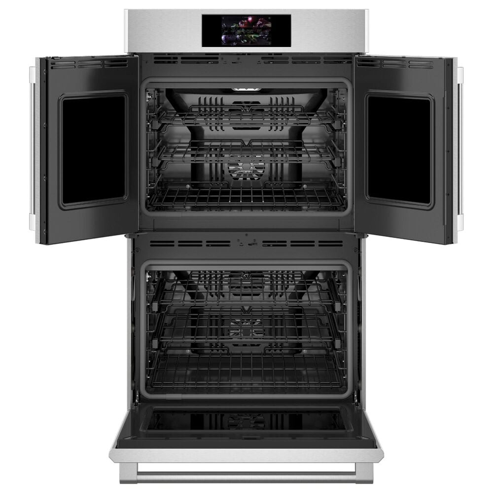 """Monogram Statement 30"""" French Door Electric Double Wall Oven in Stainless Steel, , large"""