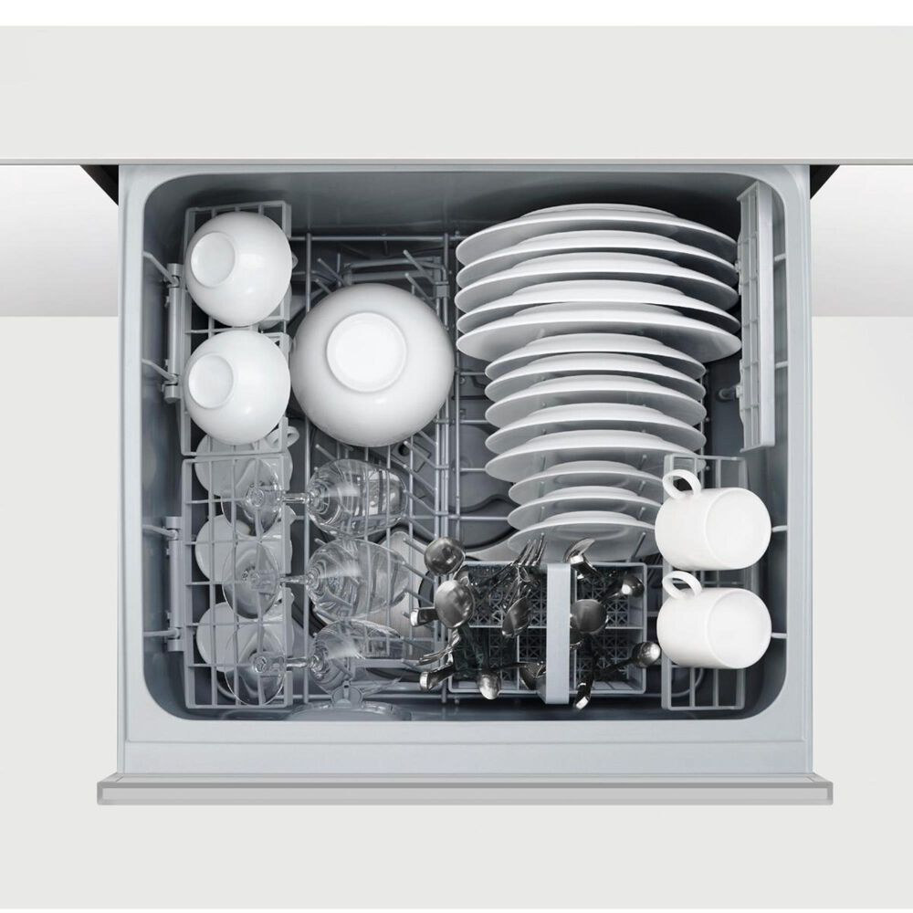 Fisher and Paykel Built-In Double Drawer Dishwasher in EZKleen Stainless Steel , , large
