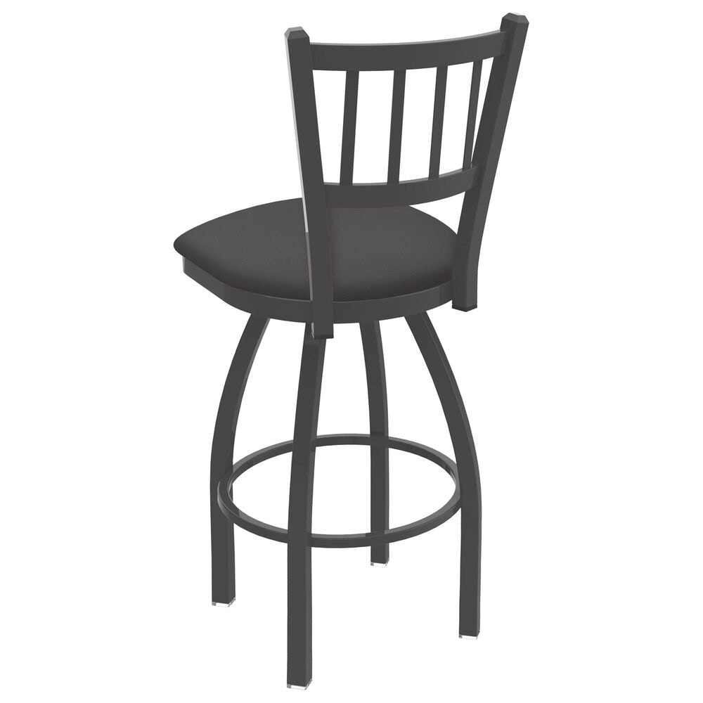 """Holland Bar Stool 810 Contessa 25"""" Swivel Counter Stool with Pewter and Canter Storm Seat, , large"""