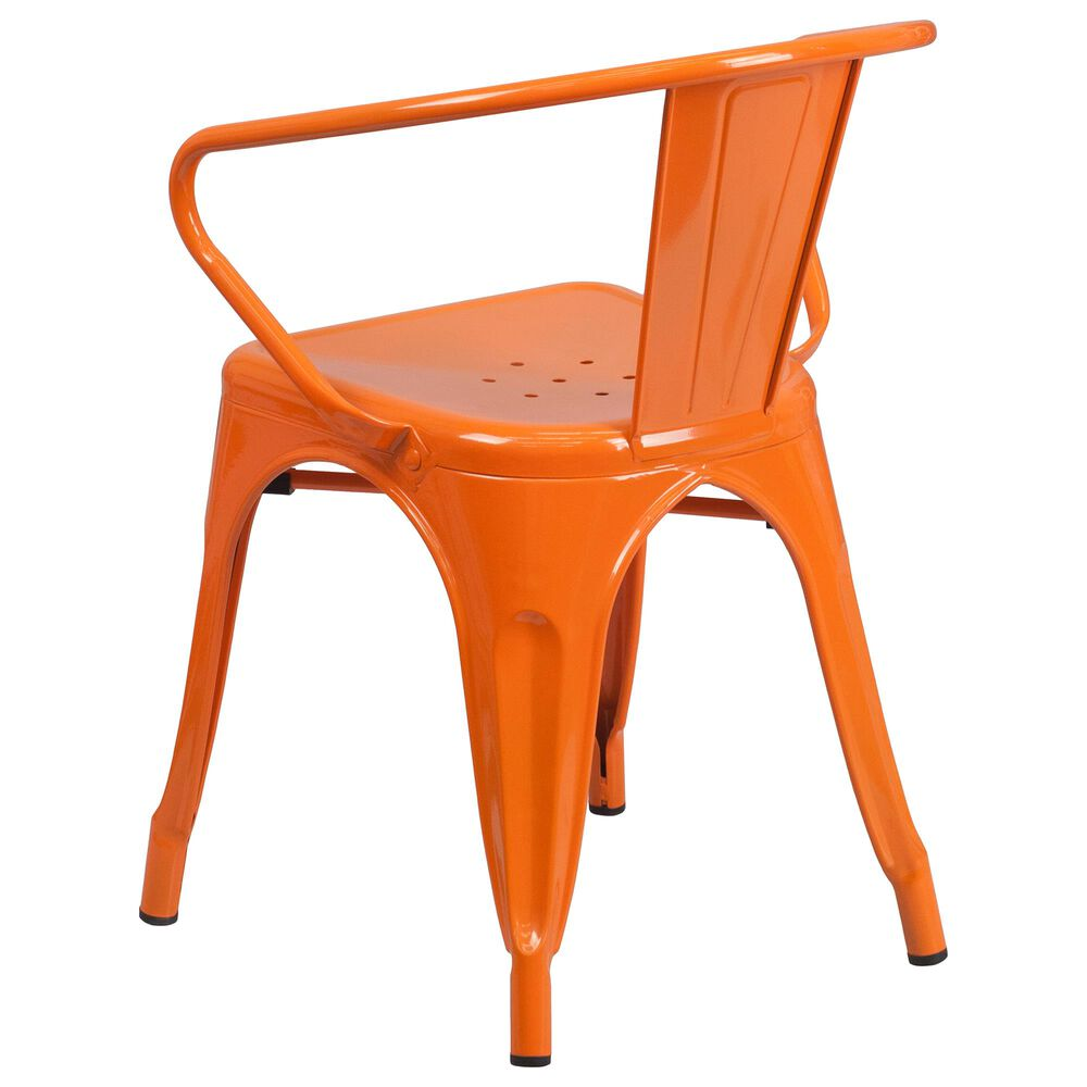 Flash Furniture Arm Chair in Orange, , large