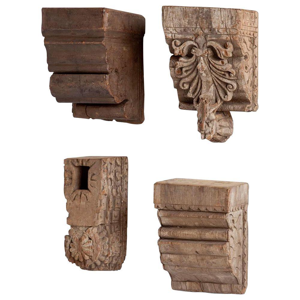 Mercana Negundo Wall Shelves (Set of 4), , large