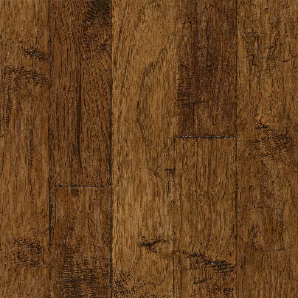 Bruce Hardwood Flooring Frontier Brushed Sahara Sand Hickory Hardwood, , large