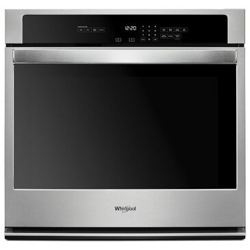 "Whirlpool 30"" 5 Cu. Ft. Single Wall Oven with the Fit System in Stainless Steel, , large"