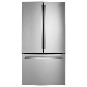 GE Appliances 27.0 Cu. Ft. Fingerprint Resistant French-Door Refrigerator in Stainless Steel, , large