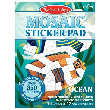 Melissa & Doug Mosaic Sticker Pad - Ocean, , large