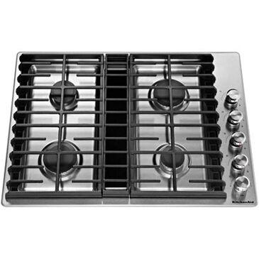 "KitchenAid 30"" 4 Burner Gas Downdraft Cooktop, , large"