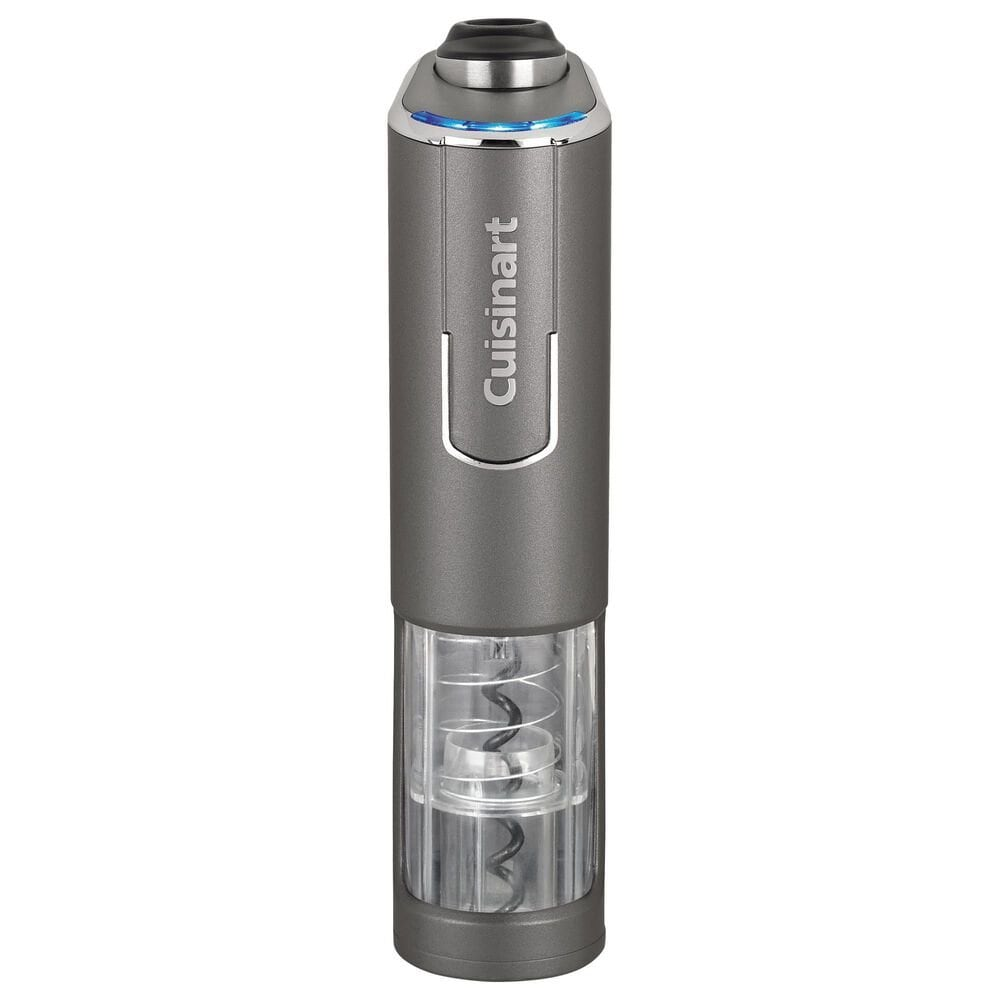 Cuisinart Evolution X Cordless Rechargeable Wine Opener in Gray, , large