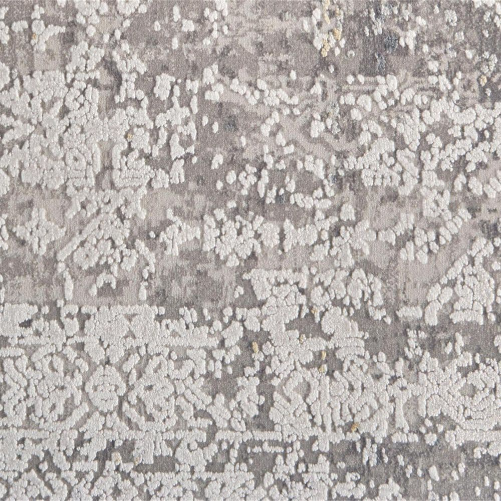 """Feizy Rugs Cadiz 3892F 2'2"""" x 3'2"""" Light Gray and Ivory Scatter Rug, , large"""