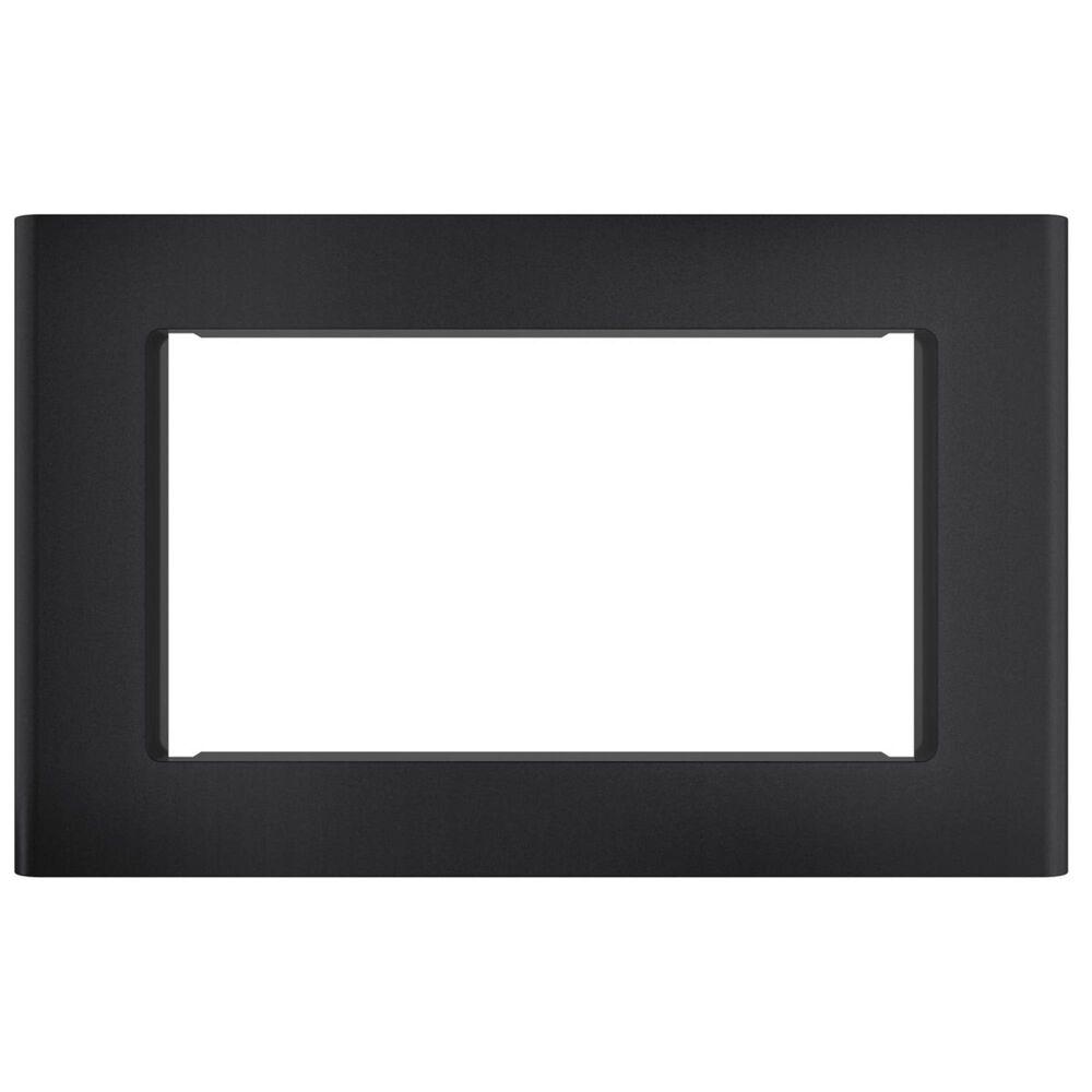 "Cafe 27"" Microwave Black Matte Trim Kit, , large"