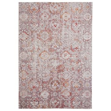 Feizy Rugs Armant 3946F 2' x 3' Pink and Gray Scatter Rug, , large