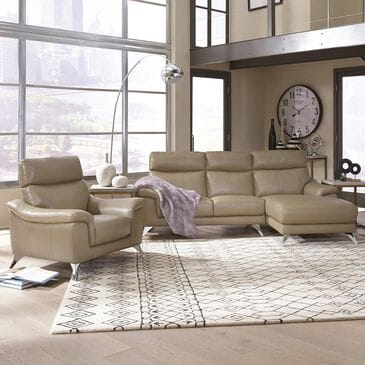 Home Styles Moderno Chaise Sofa and Chair in Taupe, , large