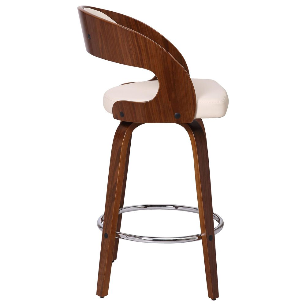 """Blue River Shelly 26"""" Swivel Counter Stool in Cream, , large"""