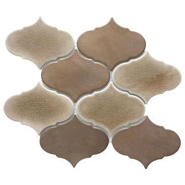 "Emser Retro II Bronze Cloud 9"" x 10"" Porcelain Mosaic Sheet, , large"