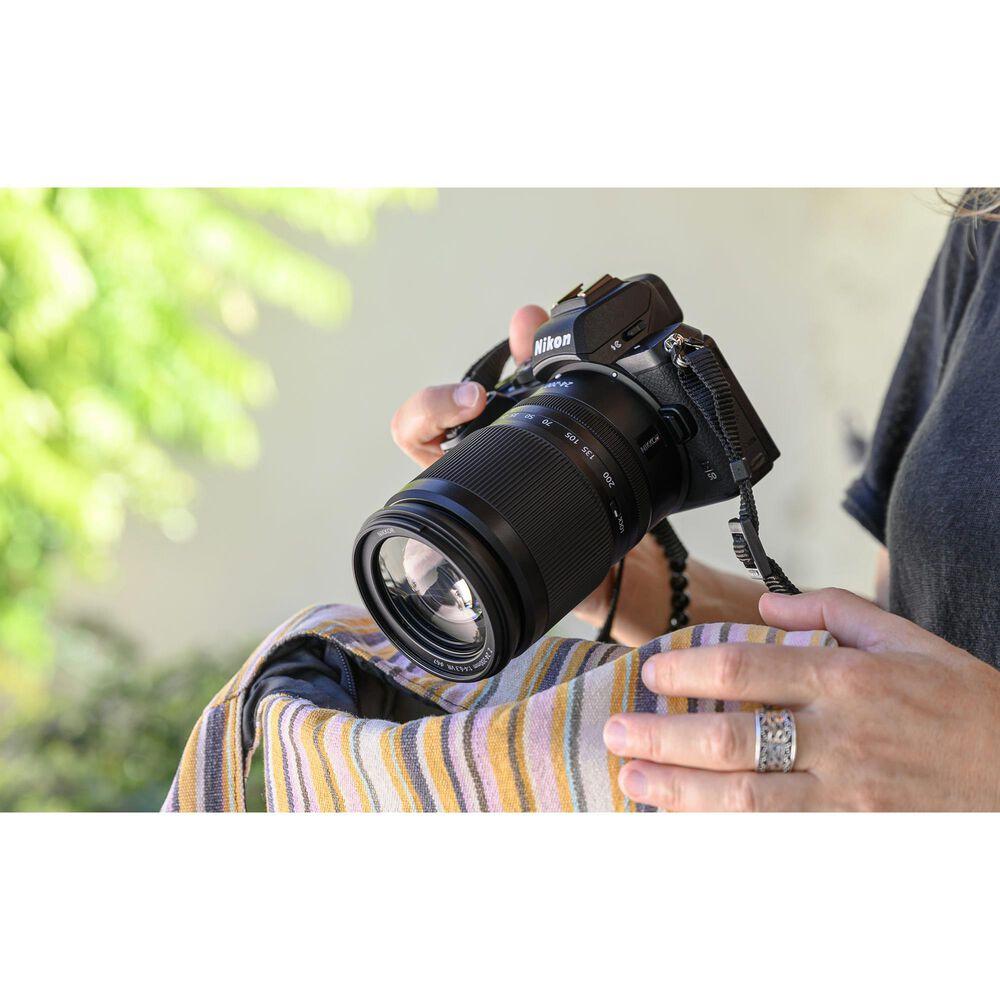 Nikon Z 24-200mm f/4-6.3 VR Zoom Lens in Black, , large