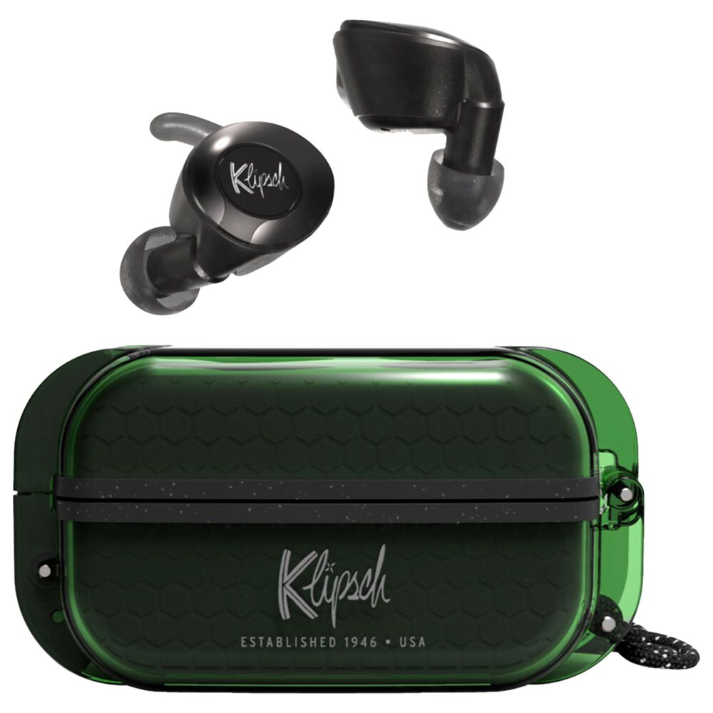 Klipsch T5 II True Wireless Sport Headphones in Green, , large