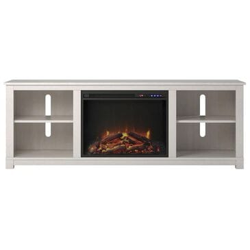 "DHP Rossi 60"" TV Console with Fireplace in Ivory Pine, , large"