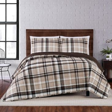 Pem America Truly Soft Paulette 3-Piece Full/Queen Quilt Set in Taupe, , large