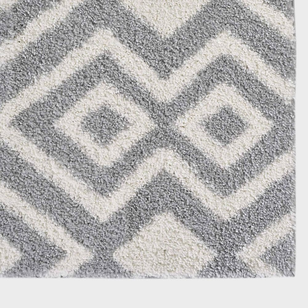 """Central Oriental Prince Light Zelina 8657.209 5'3"""" x 7'3"""" Cream and Grey Area Rug, , large"""