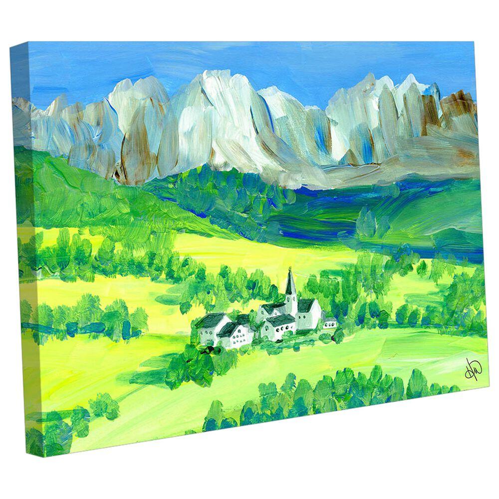 "Kathy Ireland Home ""Swiss Alps"" 20"" x 24"" Canvas Wall Art Print, , large"