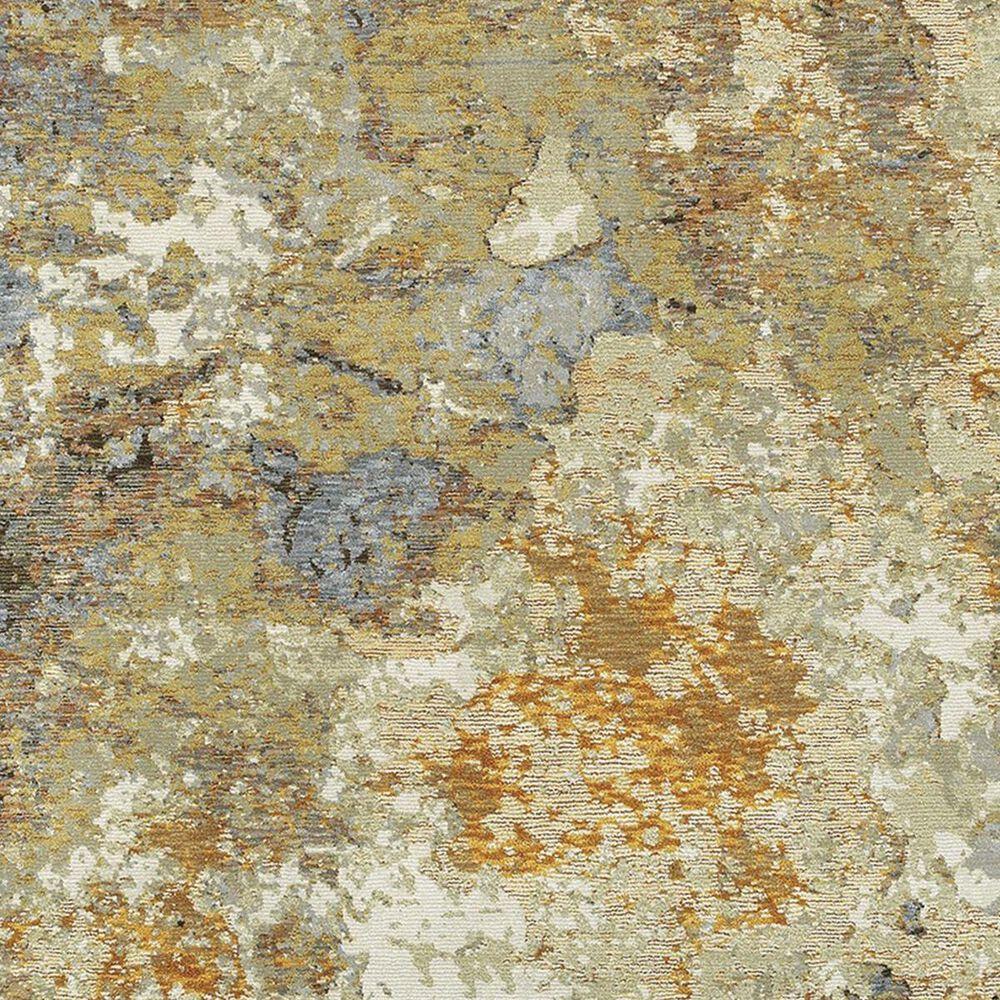 "Oriental Weavers Evolution 8031B 8'6"" x 11'7"" Gold Area Rug, , large"