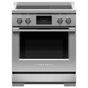 """Fisher and Paykel 30"""" Professional Induction Range in Stainless Steel, , large"""