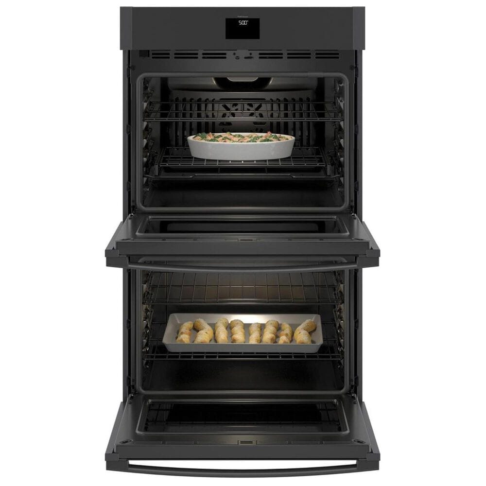 """GE Appliances 30"""" Built-In Double Wall Oven with Convection in Black Slate, , large"""