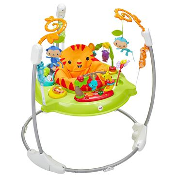 Fisher-Price Roaring Rainforest Jumperoo, , large