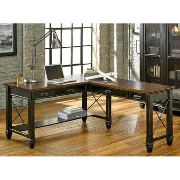 Wycliff Bay Hartford Right Hand Facing Open L-Shaped Desk, , large