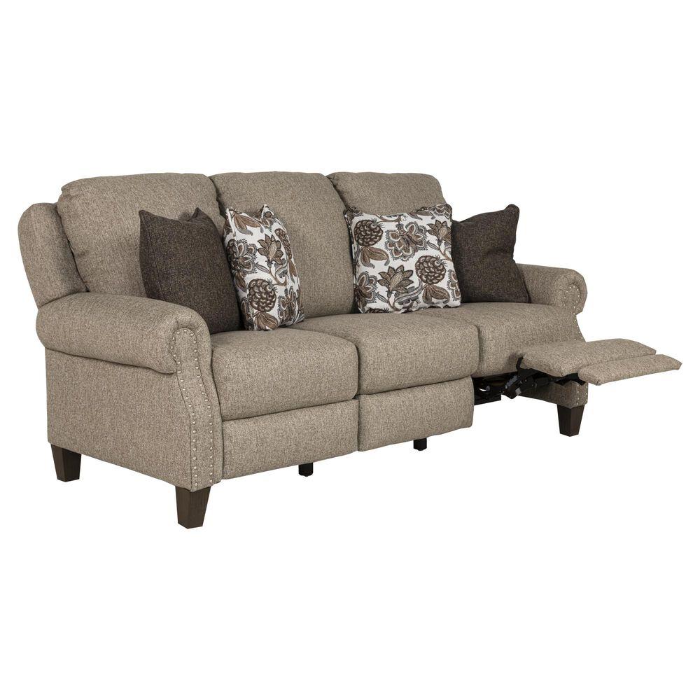 Southern Motion Key Largo Power Reclining Sofa with Power Headrest in Mushroom, , large
