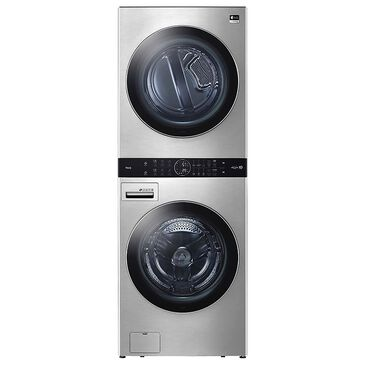 LG SIGNATURE 5.0 Cu. Ft. Front Load Washer and 7.4 Cu. Ft. Electric Dryer Laundry Pair in Stainless Steel, , large