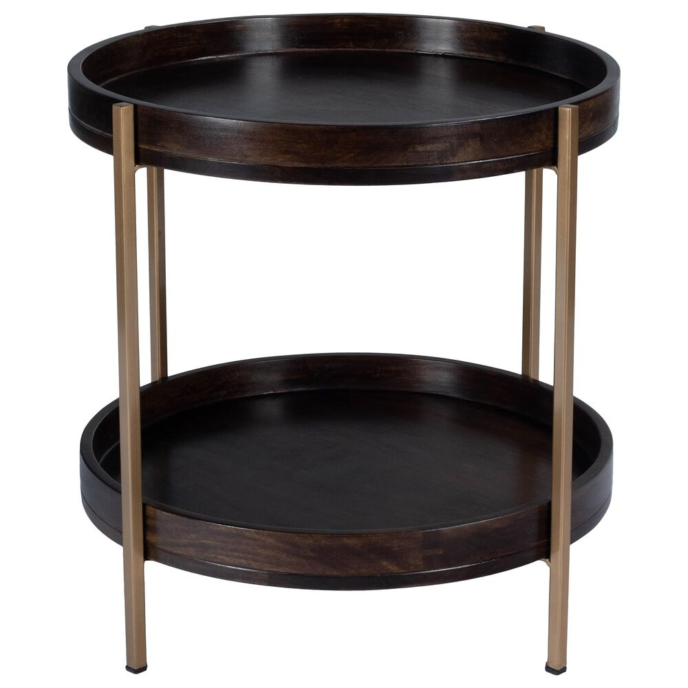 Butler Damirra Accent Table in Dark Brown, , large