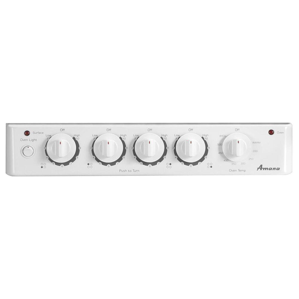 "Amana 20"" Freestanding Electric Range in White, , large"