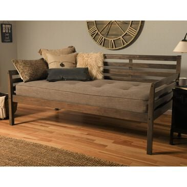 Kodiak Furniture Daybed with Mattress in Rustic Walnut, , large